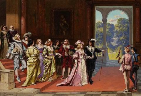 Ночь покорности. Людовик XIII и Анна Австрийская