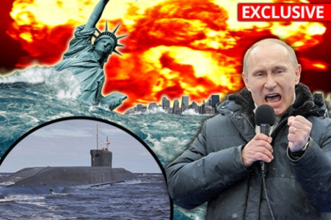 Русское атомное ЦУНАМИ: Путинские подводные лодки закладывают глубоководные бомбы...