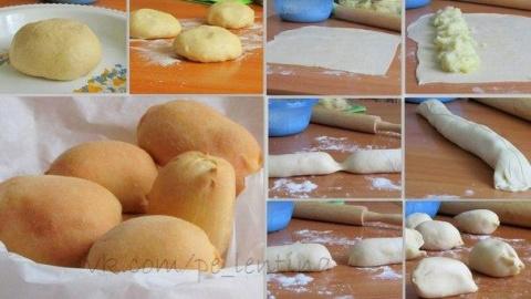 Пирожки-малышки «слоеные» ск…