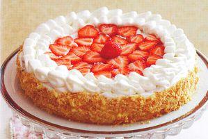 Клубничный торт. Рецепт с фото
