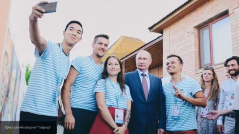 Президент России прибыл в Кр…