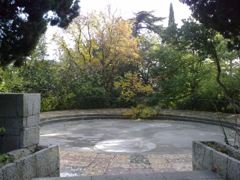 Круглая площадка