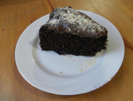 Шоколадный кекс в духовке «Н…