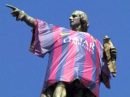 Колумба приняли в «Барселону»