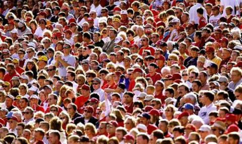 Как в толпе не затеряться