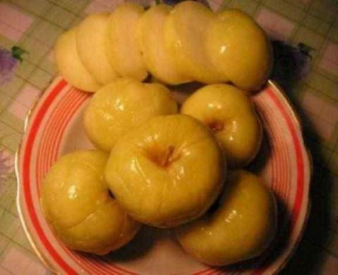 Моченые яблоки по монастырск…