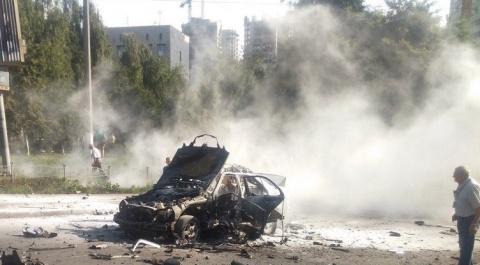 Украинская полиция назвала взрыв в Киеве терактом