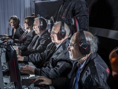 «Серебряные Снайперы» - самая пожилая киберспортивная команда Швеции