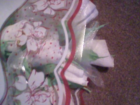 """Сладкий подарок """"Свадебные розы"""""""
