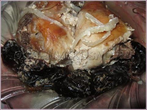 Цыпленок в маринаде, запеченный в фольге