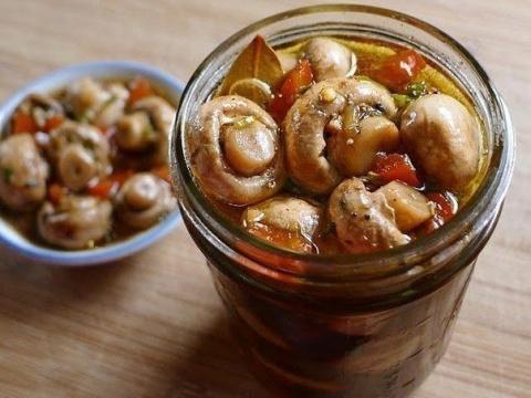 Маринуем самые вкусные грибы…