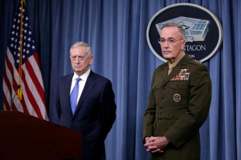 Пентагон заверил, что удар в Сирии не повторится при безопасности сил США