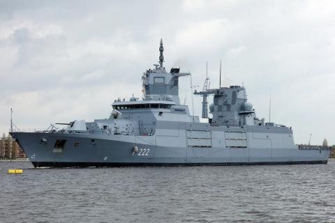 Новейший немецкий фрегат про…