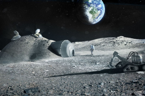 Китай хочет построить обитаемую Лунную деревню. Вместе с Европой, не с Россией