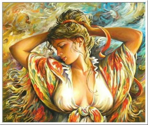 Королевы цветов. Аркадий Острицкий