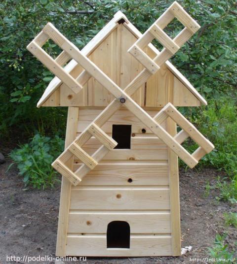 Мельница для сада из доступн…