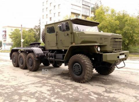 Новый танковоз