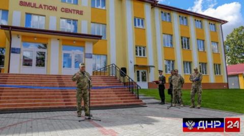 Во Львове открыли первый американский центр моделирования боевых действий