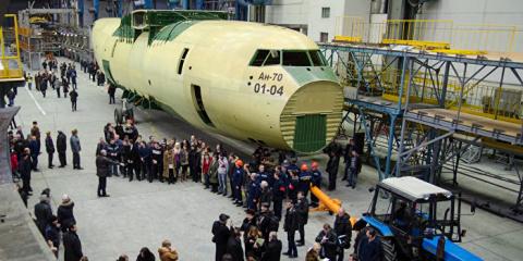«Необыкновенный прорыв» украинского авиастроения
