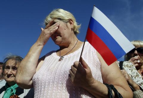Велели терпеть. Россия едет …