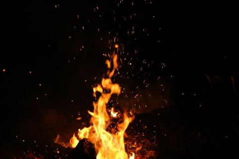 Ночью в Екатеринбурге горел …
