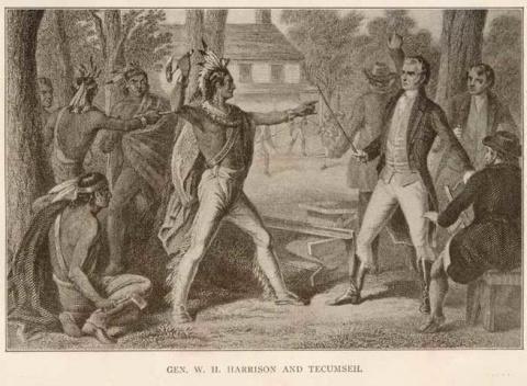 Проклятие Текумсе: за что индейский вождь проклял президентов Америки