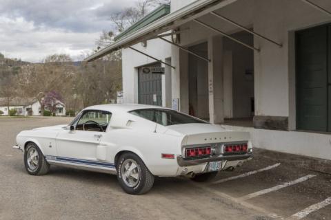 Shelby GT 500 найден спустя 40 лет после угона