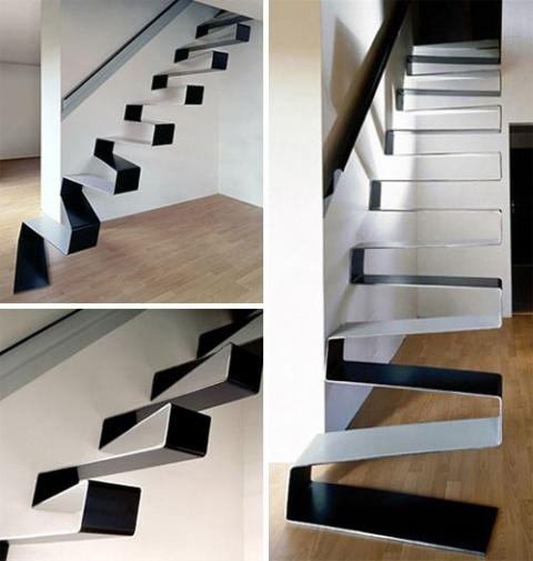 20 стильных современных лестниц
