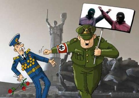 Позорный полк в степях Украины