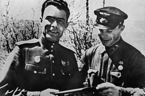 Как воевал Брежнев на Велико…