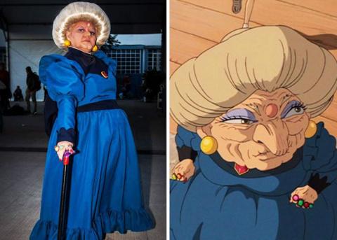 Бразильянка талантливо перевоплощается в персонажей мультфильмов