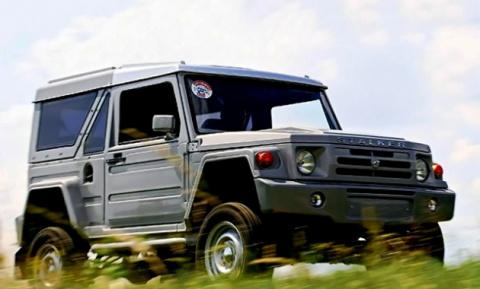 Lada 4×4 станет базой для еще одного внедорожника