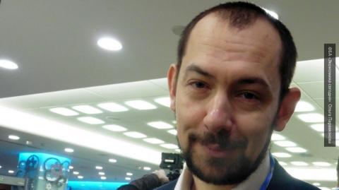 Украинский журналист Цимбалю…