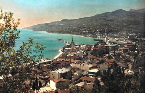 15 цветных фотографий с видами Крыма, сделанных в 1925 году