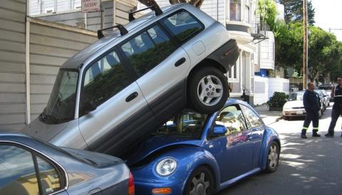 АВТОШКОЛА. Парковка в городских условиях