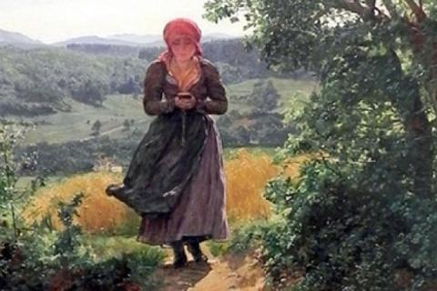 На картине XIX века нашли девушку с iPhone
