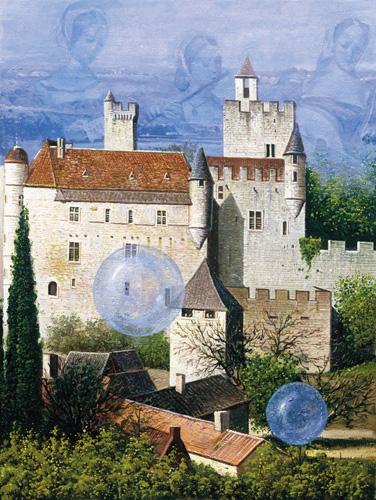 История замка, наполненная звуками флейты