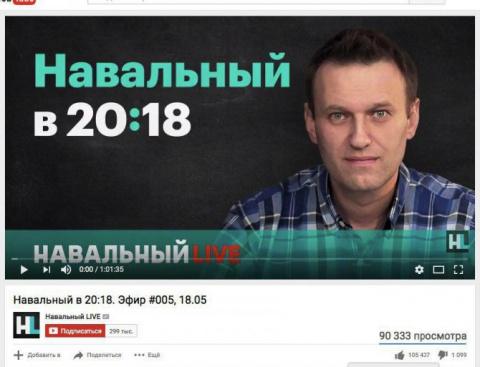 Леша Навальный попал впросак