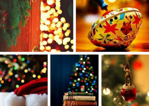 Новогоднее настроение – это когда рад видеть даже тех, кто ошибся дверью.