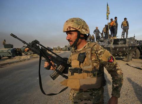 Иракские силы полностью осво…