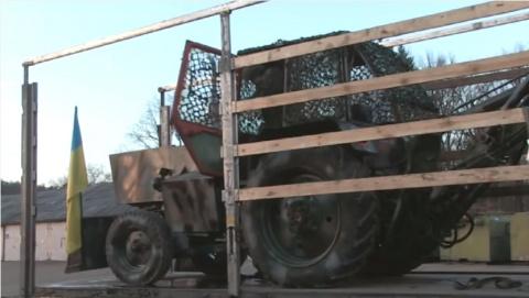 Литва оказывает помощь ВСУ  бронированными тракторами)))))