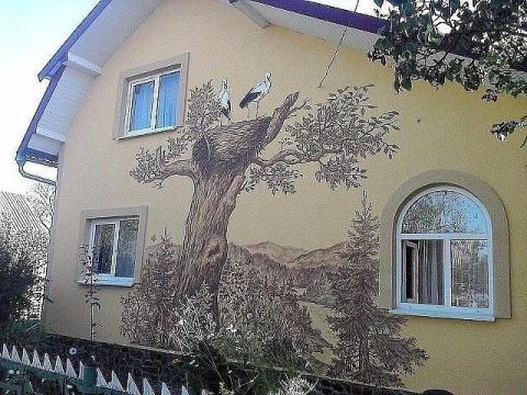 Хозяин дома - художник-самоу…