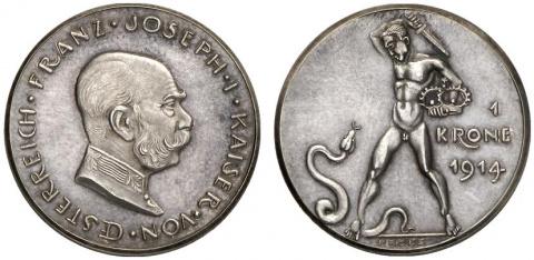 Памятные монеты Франца-Иосифа I. Часть 1
