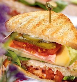 Сэндвич клубный!