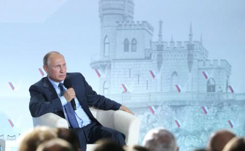 Путин рассказал о разговоре с Порошенко: «Удивительно просто!»