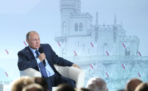 Путин рассказал о разговоре …