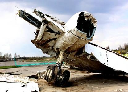 Бомбу на борту Ту-154 могли …