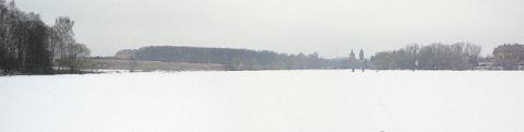 1666. Покровский пруд на Соловке