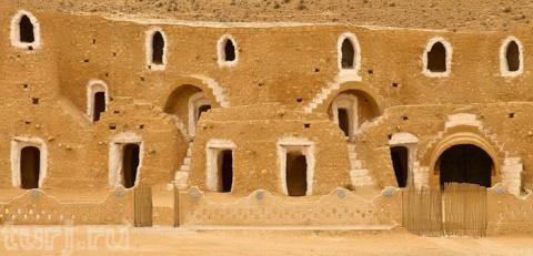 Тунис: Матмата - древние жил…
