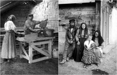 20 ретро фотографий из жизни заволжских крестьян в 1890-х годах